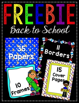 Huge Back to School FREEBIE