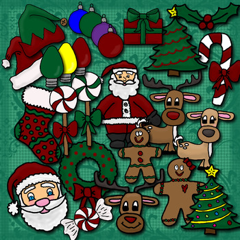 Huge Christmas Clip Art Collection 82 Images