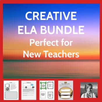 Huge ELA Activities Bundle: More than 20 Activities Adapta