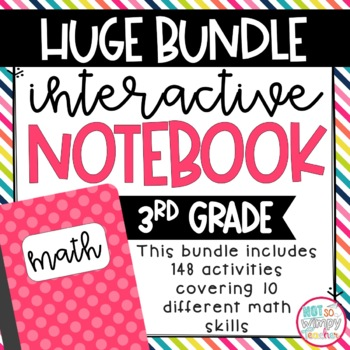 Huge interactive notebook math bundle, available on TpT