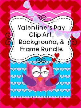 Huge Valentine's Day Clip Art Bundle