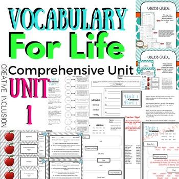 Vocabulary for Life