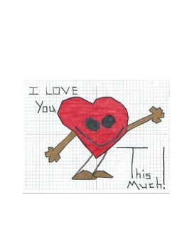 Hugging Heart Valentine Graphing Activity