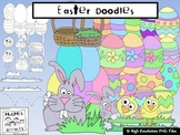 Easter Clip Art- Hughes Doodles {Personal and Commercial Use}