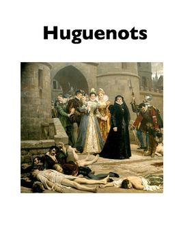 Huguenots (Worksheets)