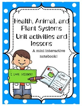 Human, Animal, and Plant Systems Interactive Notebook