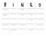 Human Bingo - Class Activity