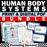 Human Body Systems Bundle of Science Activities and Games