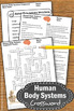Human Body Systems Crossword Puzzle No Prep Science Worksheet