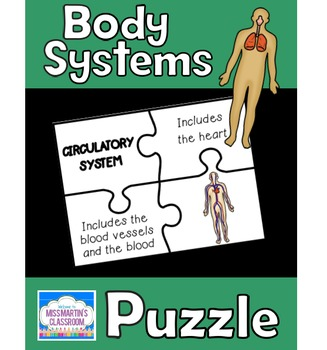 Human Body Systems Matching Puzzle Game