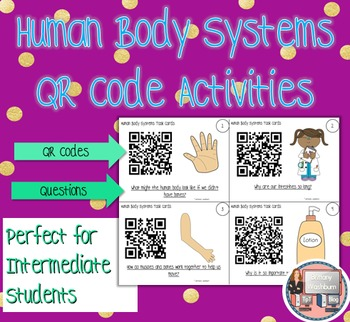 Human Body Systems QR Code