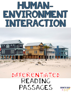 Human Environment Interaction Geography Nonfiction Differe