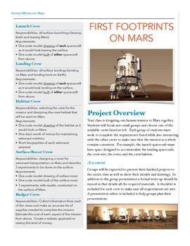 Human Mission to Mars Class Project
