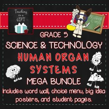 Human Organ Systems MEGA BUNDLE