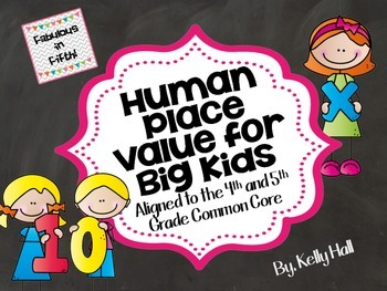 Human Place Value for Big Kids: Whole Number and Decimal P