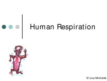 Human Respiration PowerPoint Presentation Lesson Plan