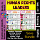 Human Rights Leaders /Readings, Printables and Flip Flaps