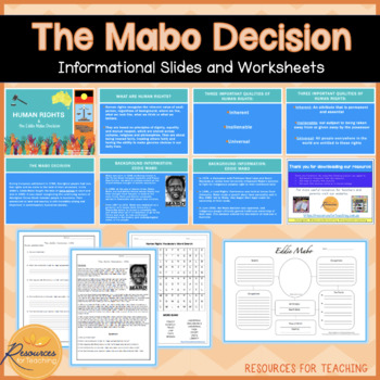 Human Rights and the Mabo Decision.
