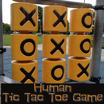 Human Tic-Tac-Toe Review Game for any content area or grade-level