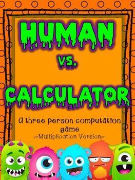 Human Vs. Calculator Multiplication Practice