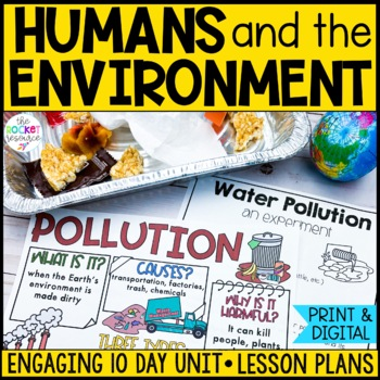 Humans and the Environment: types of pollution & protectin