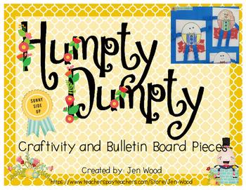 Humpty Dumpty Craftivity