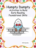 Nursery Rhymes: Humpty Dumpty Kit- Reading Foundational Sk