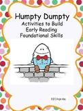 Nursery Rhymes: Humpty Dumpty Kit- Reading Foundational Sk