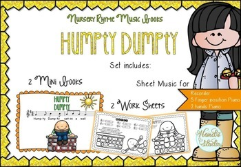 Humpty Dumpty Music Book