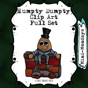 Humpty Dumpty Nursery Rhyme Themed Clip Art