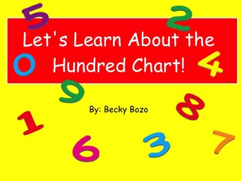 Hundred Chart Introduction Smart Board Lesson