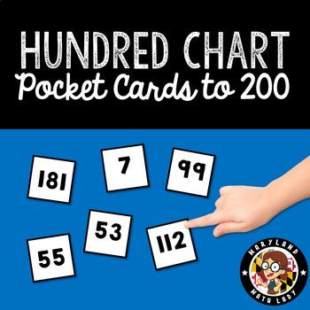 Hundred Chart - Pocket Cards 0-200