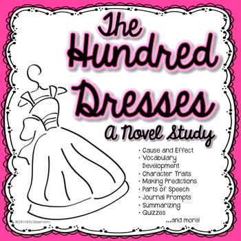 Hundred Dresses Novel Study & Activities