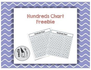 Hundreds Chart Freebie
