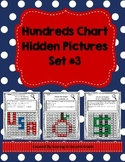 Hundreds Chart Hidden Pictures Set Math Base Ten Practice