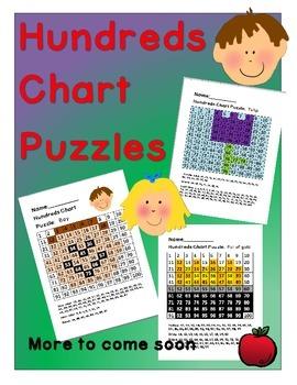 Hundreds Chart Puzzles