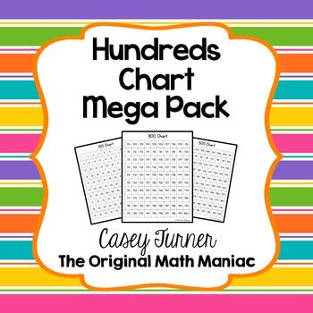 Hundreds Charts Mega Pack Free Sample - 100 Chart