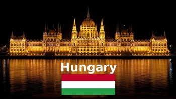 Hungary: Geographic overview with a graphic organizer for