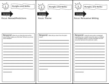 Hungbu and Nolbu:AKorean Folktale Trifold Smart Start 5th grade