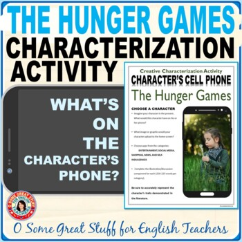 Hunger Games Characterization Cell Phone Activity--Fun and