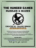 Hunger Games Novel Puzzles, Mazes, Word Search