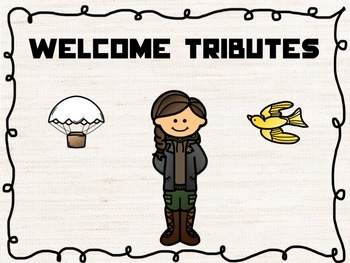 Hunger Games Testig Theme Banners