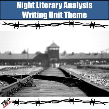 Night Theme Graphic Organizer Analysis Paragraphs