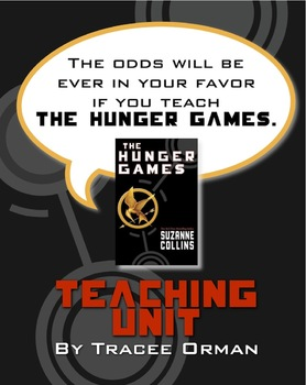 """Hunger Games"" Unit: Lessons Q&A Tests Activities Quiz Voc"