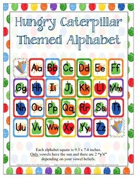 Caterpillar ABC Chart