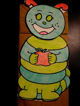 Hungry Caterpillar Paper bag puppet