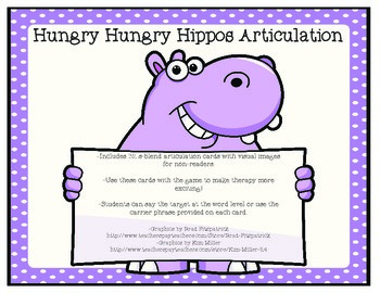 Hungry Hungry Hippos Articulation-S-blends