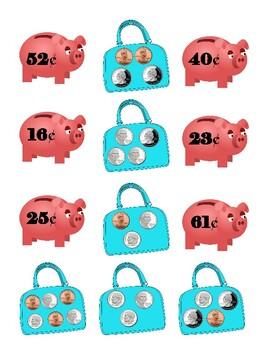 Hungry Piggy Banks