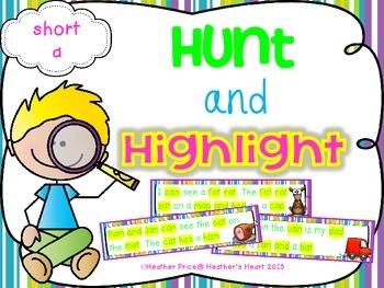 Hunt and Highlight: Short A