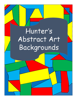 Hunter's Abstract Art Backgrounds Freebie